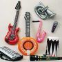 Inflatable Guitars, Instruments and Microphones for your Birthday Party