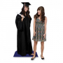 Life Size Cardboard Standee of Graduate for their Graduation Party