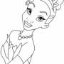 FREE Printable Princess Tiana Coloring Pages