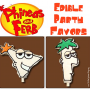 Phineas and Ferb Edible Party Favors