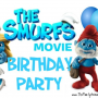The Smurfs Movie Birthday Party Theme