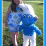 Giant Smurf Pinata from PinataCasa