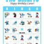 The Smurfs Birthday Party Bingo Game Cards