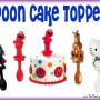 Spoon Cake Toppers – A Decoration and Utensil all in one