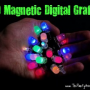 LED Magnetic Digital Graffiti Lights are fun for Parties