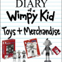 Diary of a Wimpy Kid Toys and Merchandise