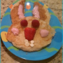 Make the kids smile with a Bunny Pancake Breakfast