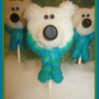 How to Make Polar Bear Cookie Pops