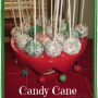How to Make Candy Cane Brownie Cake Pops