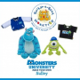 Build a Bear Monsters University Mike and Sully Plush