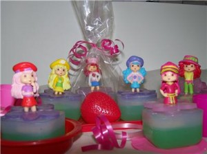 Strawberry Shortcake Soap Party Favors
