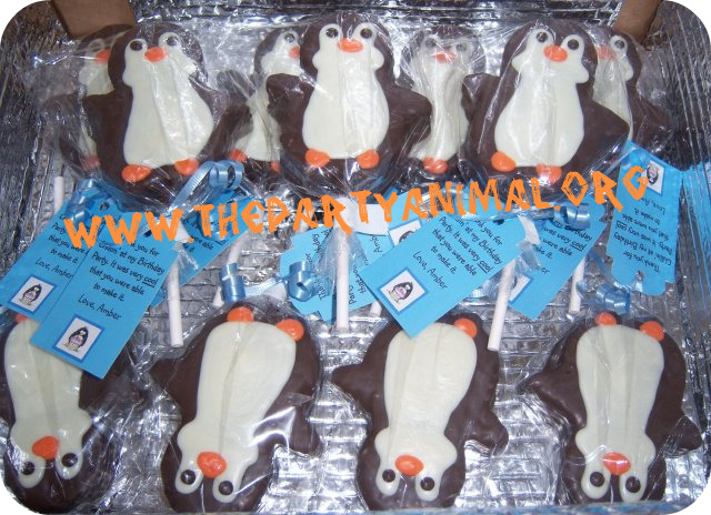 Penguin Party favors