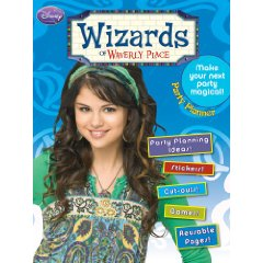 wizards of waverly place party planning book