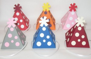 paper birthday party favors