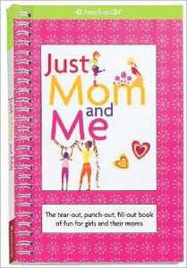 just mom and me american girl book