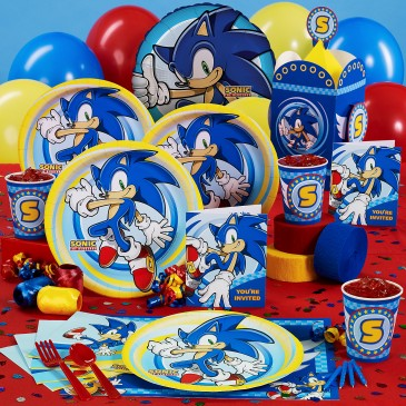 Sonic The Hedgehog Birthday Party Theme Thepartyanimal Blog