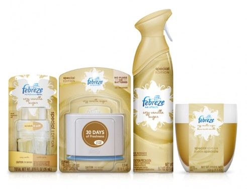 Febreze Holiday Collection Giveaway