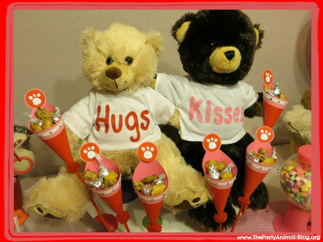 Bear Hugs and Kisses Valentines Day Party Theme