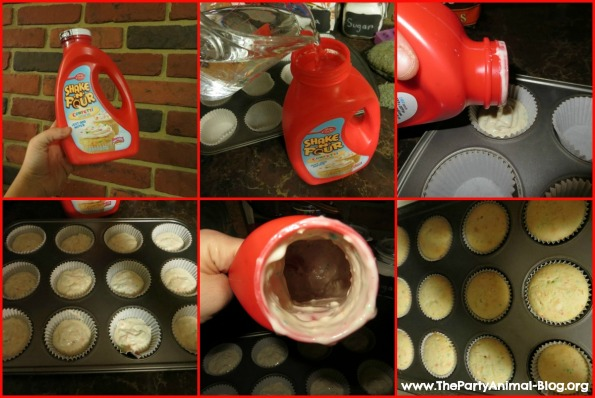 Betty Crocker Shake and Pour Cupcakes