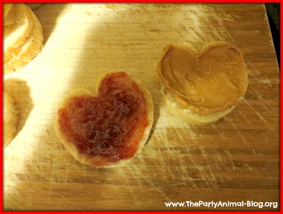 Heart Shaped Sandwiches 1