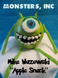 Monsters Inc Mike Apple Snack