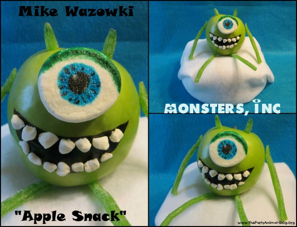 Monsters Inc Mike Apple Snack 5