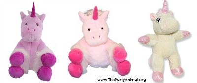 stuff a plush unicorn