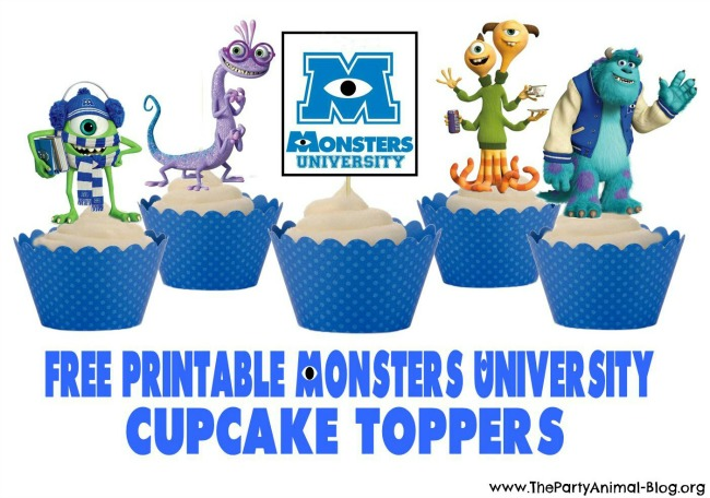 Monsters University Cupcakes 1