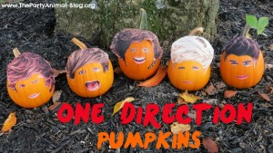 One Direction Pumpkins 1