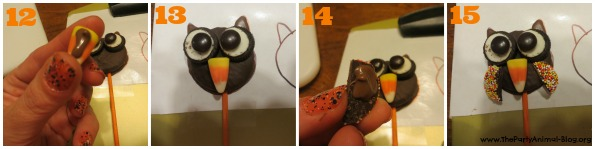 Oreo Owl Cookie Pops 5