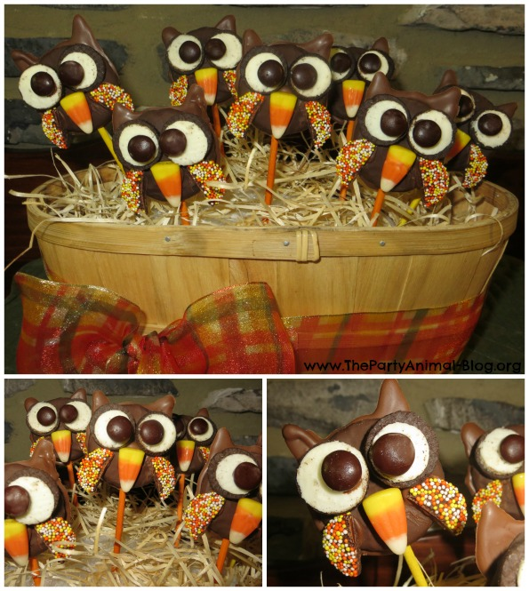 Oreo Owl Cookie Pops 6